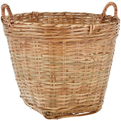 Bamboo storage basket willa (broste copenhagen) (whole, in a box)