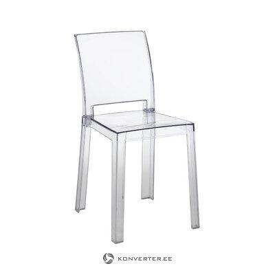 Caurspīdīga dizaina dārza krēsls (tomasucci)