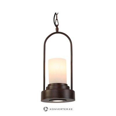 Melna led griestu lampa (iemīļotā gaisma)