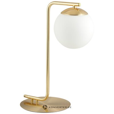 Golden-white table lamp grant (nordlux)