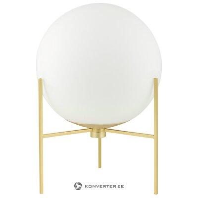 Baltā zelta galda lampa Alton (nordlux) (kastē, vesela)