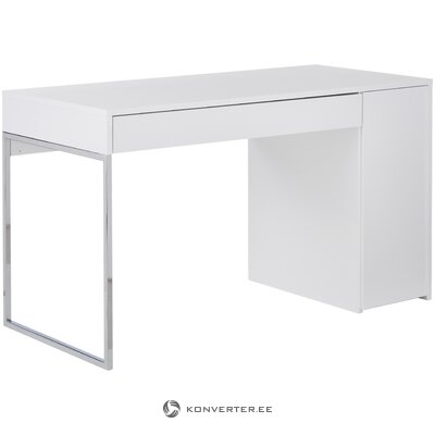 White desk (temahome) (with beauty defects., Hall sample)