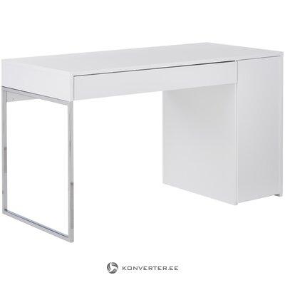 Valkoinen työpöytä (himahome) (kauneusvirheillä., Hall-näyte)