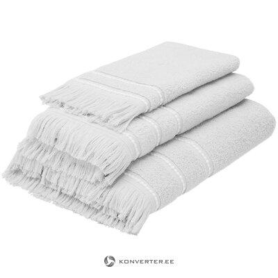 Hall-Valge Rätikute Komplekt (Mandulay) (Terve, Karbis)