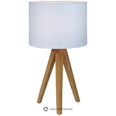White-brown table lamp kullen (markslöjd)