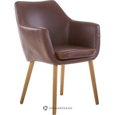 Brown armchair nora (actona)
