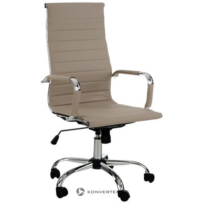 Beige office chair Prague (bizzotto) (whole)
