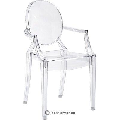Skaidrus dizaino kėdė (kartelė)