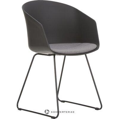 Musta tuoli Bogart (interstil dänemark) (kauneusvirhe salinäyte)