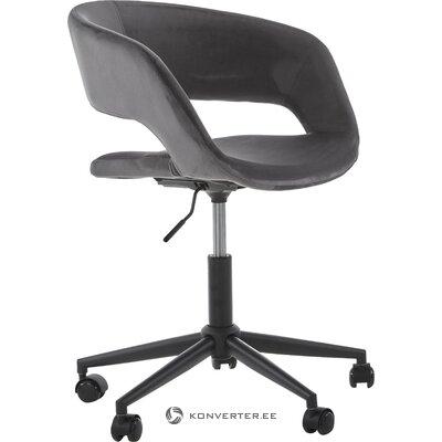 Pilka-juoda biuro kėdė (actona)