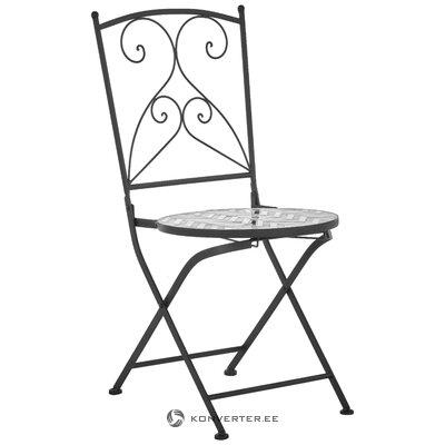 Dizaina dārza krēsls (vizlas rotājumi)