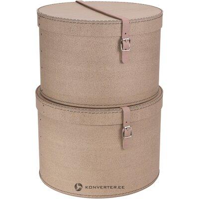 Storage box set 2-piece rut (bigso box)