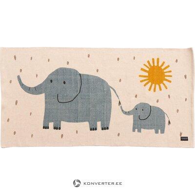 Детский коврик слоник (сосед по комнате)