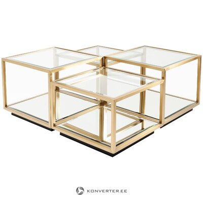 Coffee table set 4-piece swan (rough design) (whole, in box)