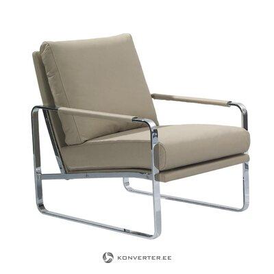 Ādas mīkstais krēsls (angel cerdá)
