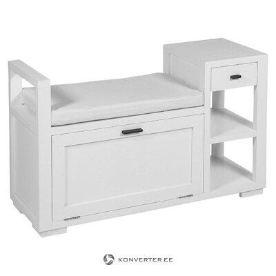 Белый передний шкаф (Сантьяго Понс)