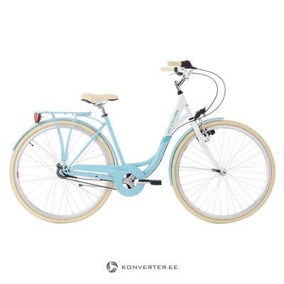 Светло синий женский велосипед (см. Езда на велосипеде)