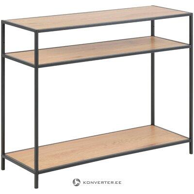 Brūns konsoles galds (Seaford) (vesels, kastē)