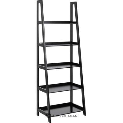 Black ladder shelf (actona) (defective hall sample)