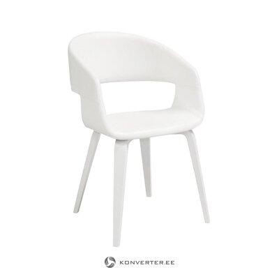 Balta minkšta kėdė (nordico)