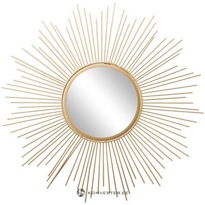 Zelta dizaina spogulis (Bruklina)