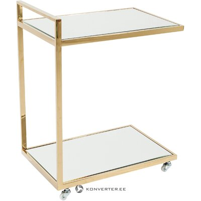 Serving trolley classy gold (rough design)