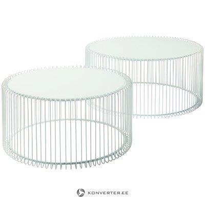Metāla kafijas galdiņu komplekts (aptuvens dizains)