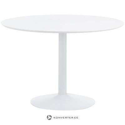 White round dining table (interstil dänemark) (with beauty defect, hall sample)