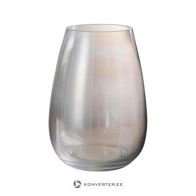Stikla ziedu vāze (jolipa) (vesela, kastē)