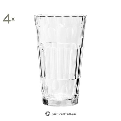 Drinking glass set (4pcs) (bloomingville) (in a box)