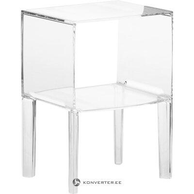 Transparent bedside table ghost (cartel)