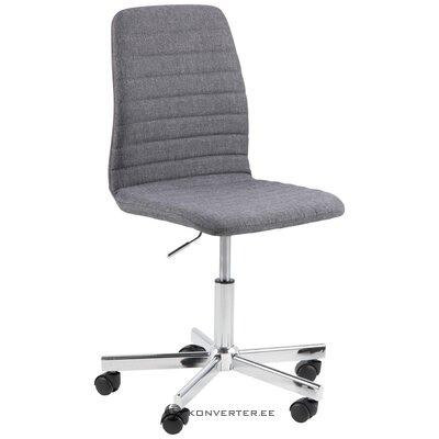 Pelēks biroja krēsls amanda (actona) (viss, zāles paraugs)
