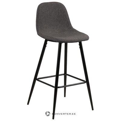 """Tamsiai pilka baro kėdė """"Wilma"""" (""""Actona"""")"""
