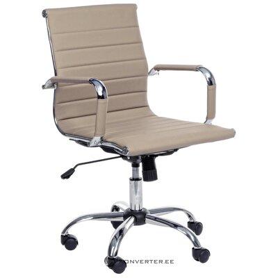 Bēšs biroja krēsls Prāga (bizzotto) (kastē, vesels)