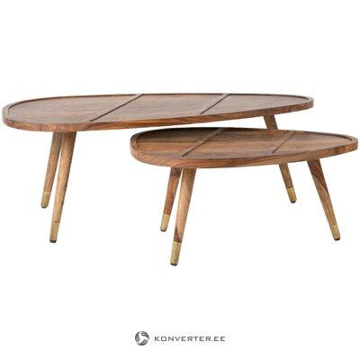 Sofa table set 2-piece sham (dutchbone)