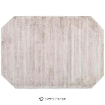 Brown-gray viscose carpet (jane) (whole, in box)