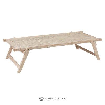 Matala muotoinen sohvapöytä (jolipa) (kokonainen, laatikossa)