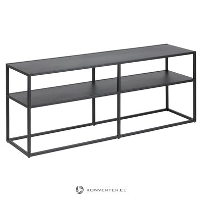 Black console table (actona) (whole)