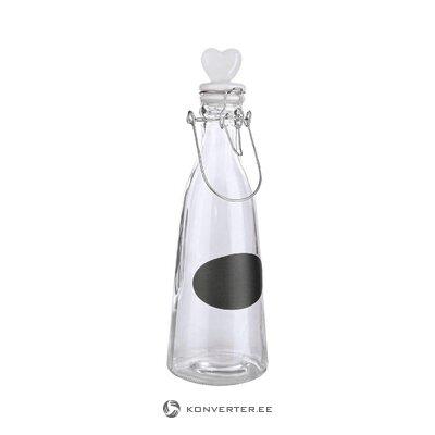 Vesipullo korkilla (bizzotto) (kokonainen, laatikossa)