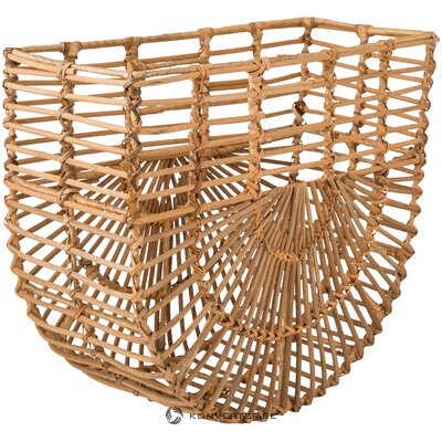 Rattan storage basket lart (bloomingville) (with beauty defects, hall sample)