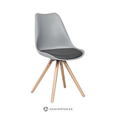 Harmaa-ruskea tuoli (bizzotto) (terve, näyte)