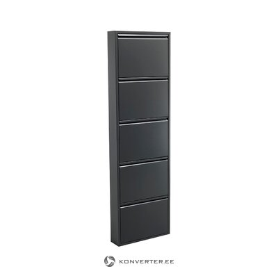 Black shoe cabinet (tomasucci) (with beauty defects., Hall sample)