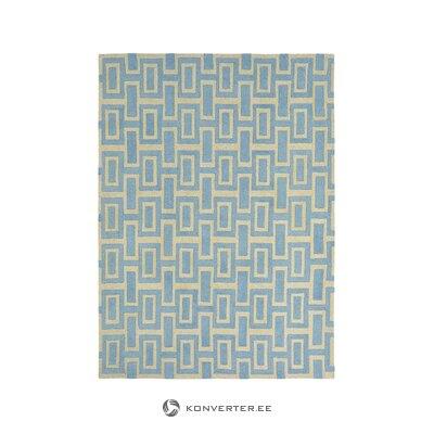 Sinikultavilla matto (wedgwood) (nainen)