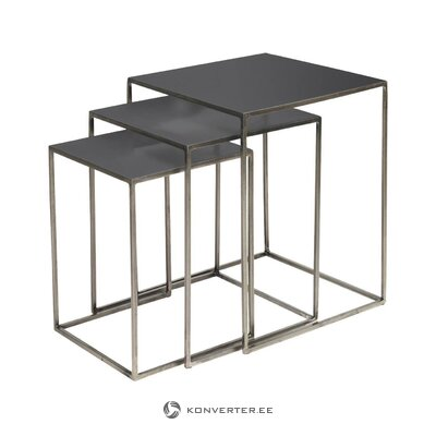 Sofa table set 3-piece (copenhagen) (whole)