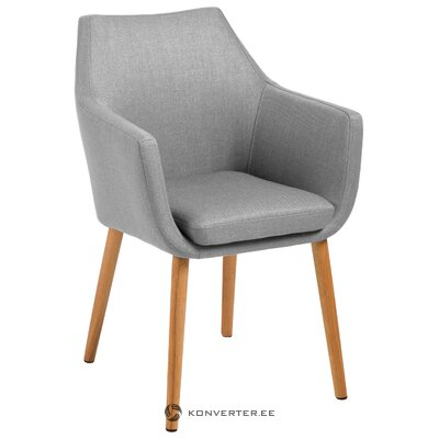 Gray-brown chair nora (actona) (in box, whole)