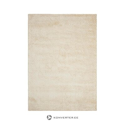 Beige viscose carpet (ellos) (whole)