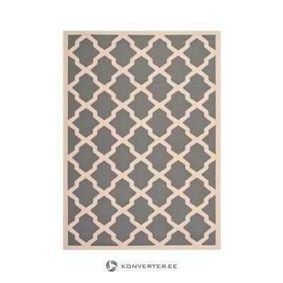 Pelēks-smilškrāsas paklājs (safavieh) (vesels)
