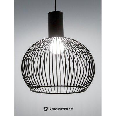 Черный подвесной светильник авер (дизайн для народа)