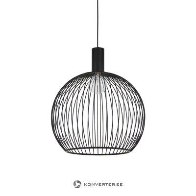 Melna kulona gaismas aver (dizains cilvēkiem) (bojāts Hall paraugs)