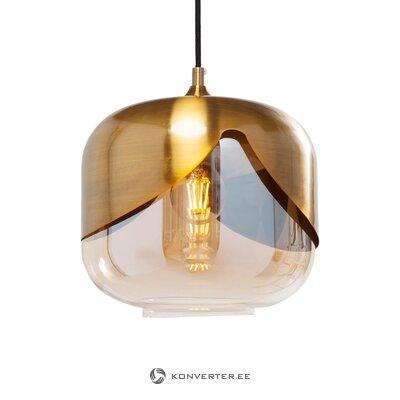 Подвесной светильник золотой кубок (грубый дизайн)